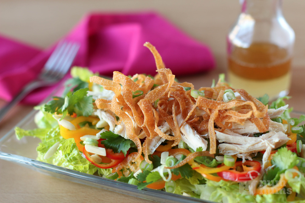 mother-in-law\'s chinese chicken salad