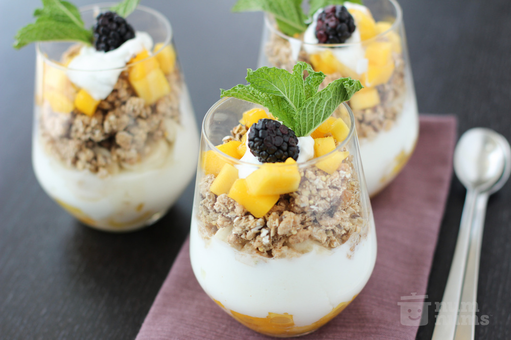 Tropical KIND Cinnamon Oat Parfait