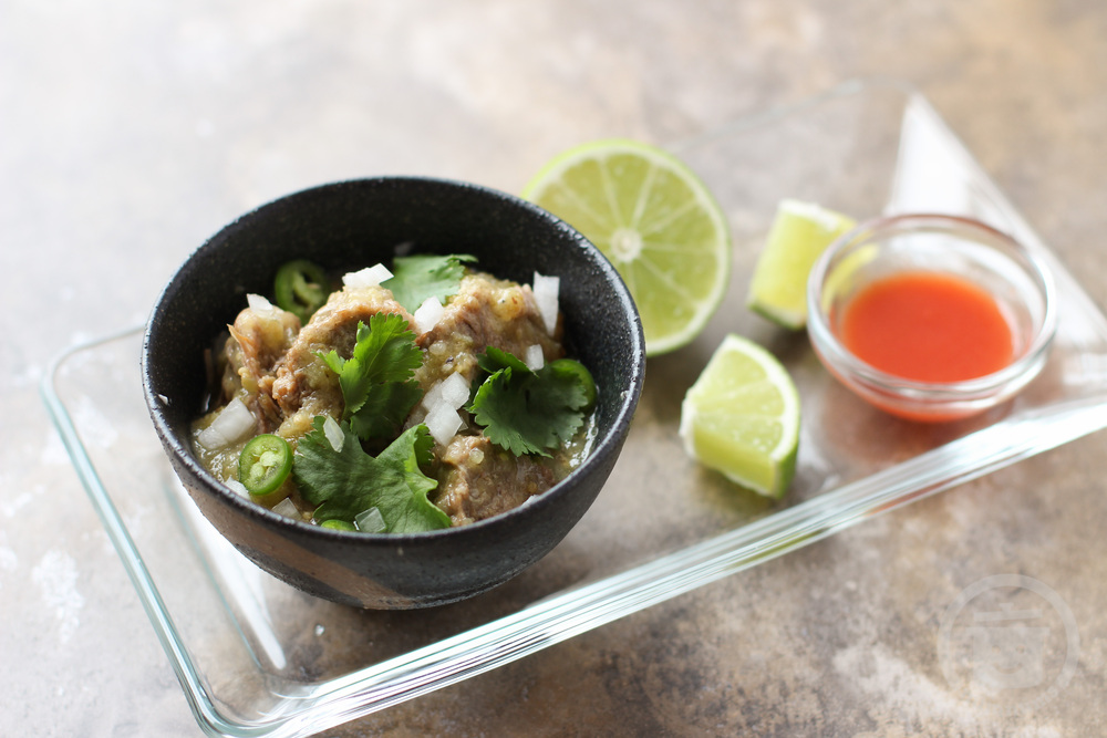 easy chile verde from GQ magazine