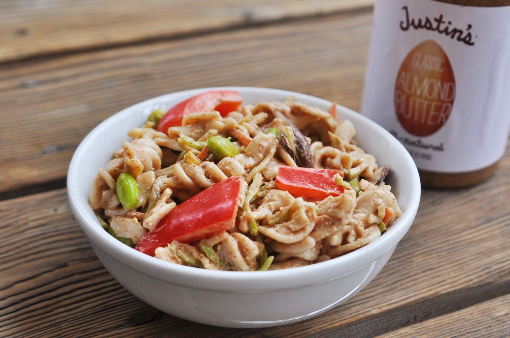 Gluten-Free Chile Lime Almond Butter Pasta
